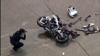This is how motorcycle accidents happen