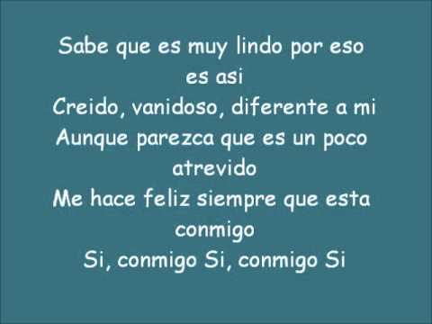 Consentidos - Un Amor De Locos - Letra