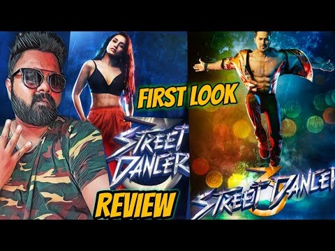 STREET DANCER 3D | VARUN DHAWAN & SHRADDHA KAPOOR | FIRST LOOK POSTER | REVIEW | TERRIFIC Mp3