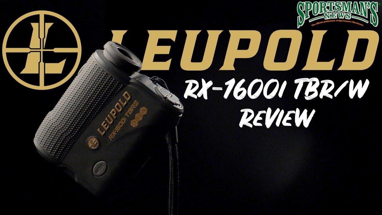 Leupold RX-1600i TBR/W Rangefinder   Review
