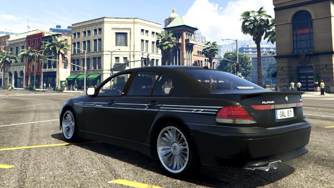 Bmw alpina b7 gta v