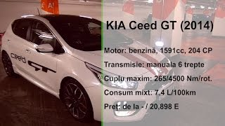 KIA Ceed GT 2014 www.buhnici.ro