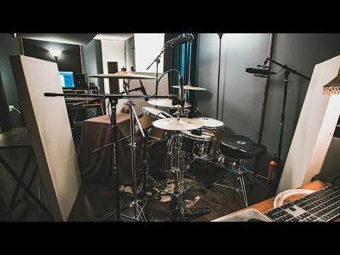 SUPER FAT AND TIGHT DRUM SOUNDS In A Home Studio