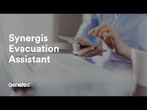 Synergis Evacuation Assistant Demo