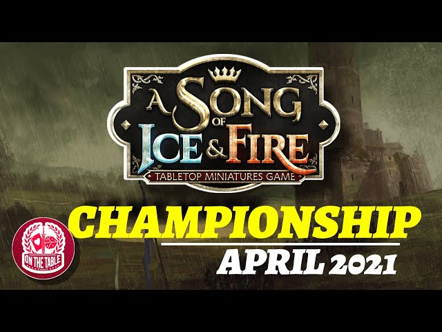 A Song of Ice and Fire April Championship!
