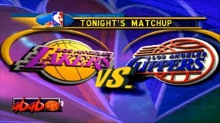 Let's Play Series! Episode 10 - NBA Showtime - NBA on NBC - Lakers vs. Clippers