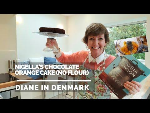 Nigella Lawson's Chocolate Orange Cake (no Flour), Simple And Fast