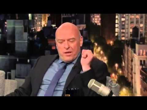 Dean Norris - Interview David Letterman 2013 08 19 HQ