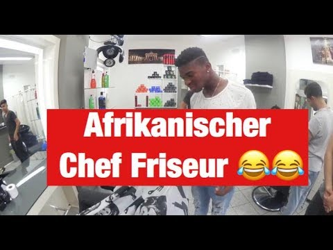 AFRIKANISCHER CHEF FRISEUR   FRANKY ALLSTAR