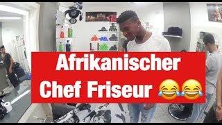 AFRIKANISCHER CHEF FRISEUR | FRANKY ALLSTAR