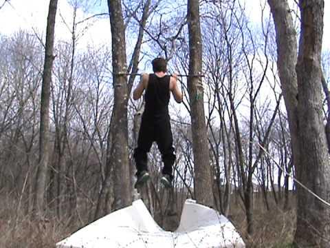 Ninja warrior salmon ladder training youtube