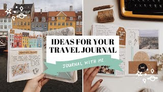 IDEAS FOR YOUR TRAVEL JOURNAL ✍✨