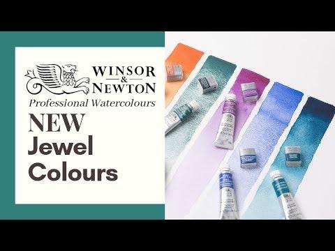 NEW Winsor & Newton Jewel Like Professional Watercolours