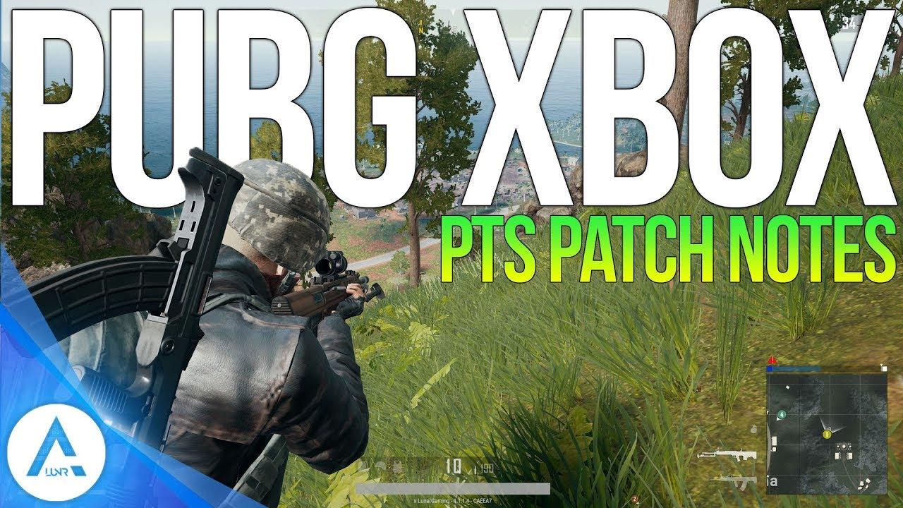 pubg pts xbox update