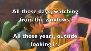 Tangled I See The Light Karaoke