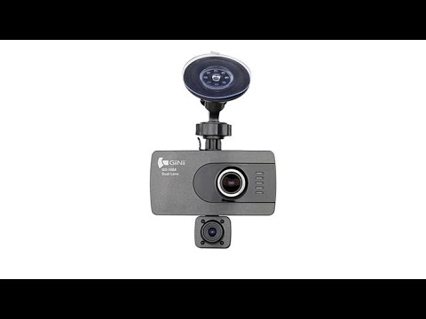 Giinii 1080p Full HD DualLens Dash Cam With 16GB MicroSD...