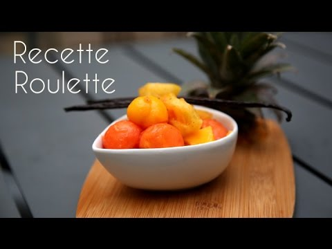 Salade de fruits exotique !