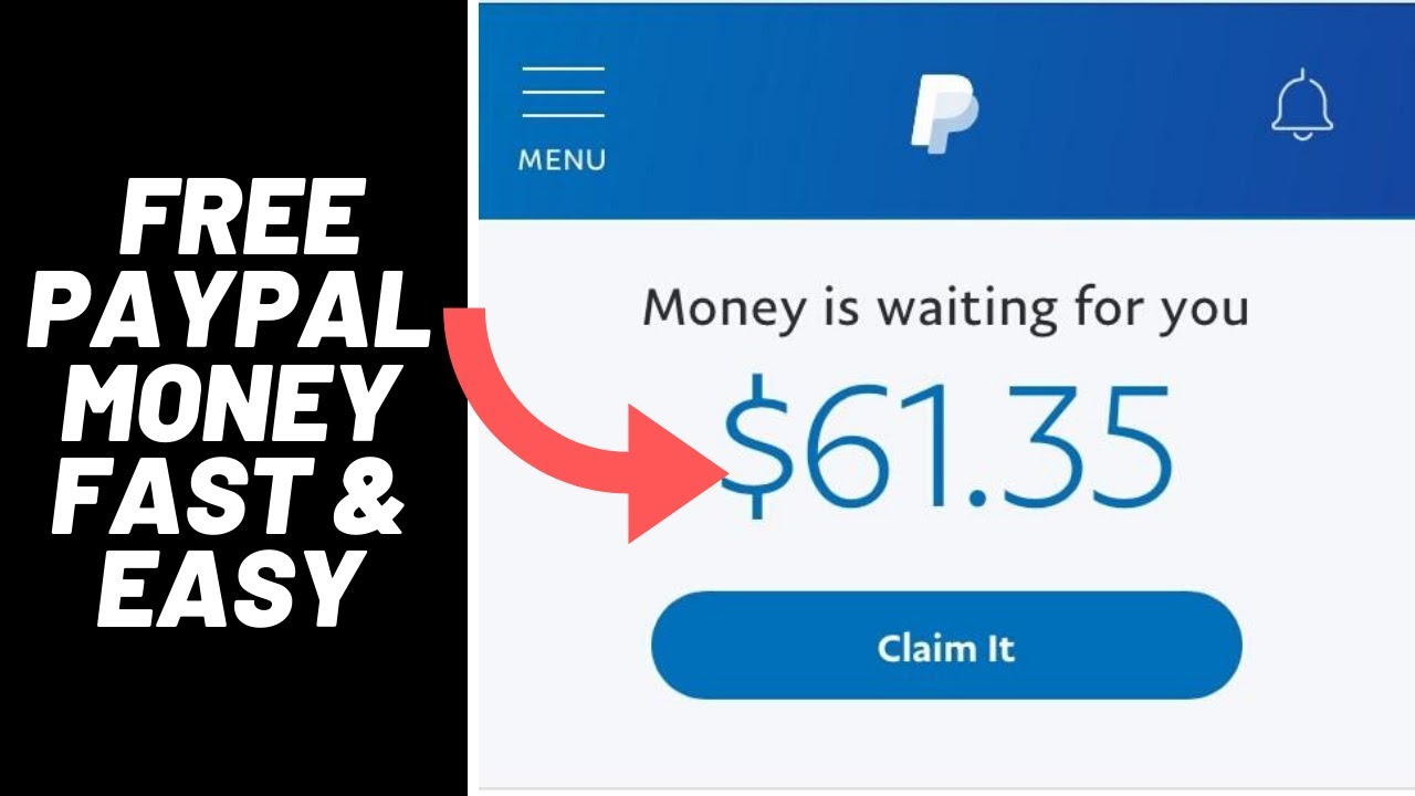 Best Website To Get Free Paypal Money Fast And Easy 2020 Free Paypal Money 2020 Legit Youtube
