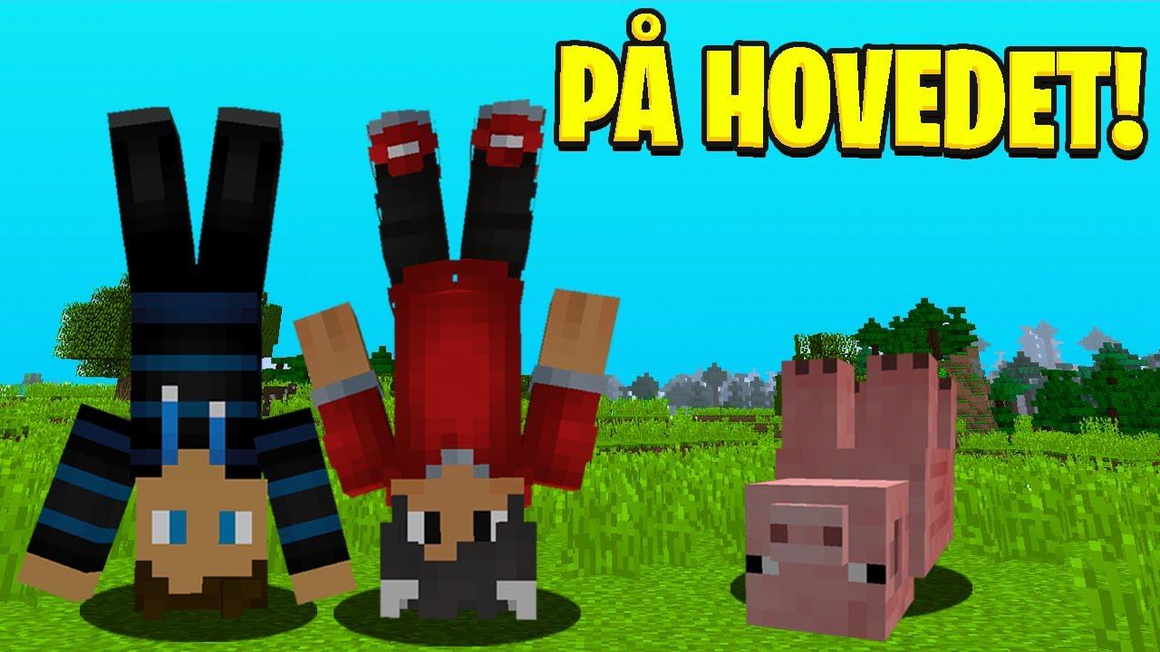 Alt Vender På Hovedet I Minecraft!