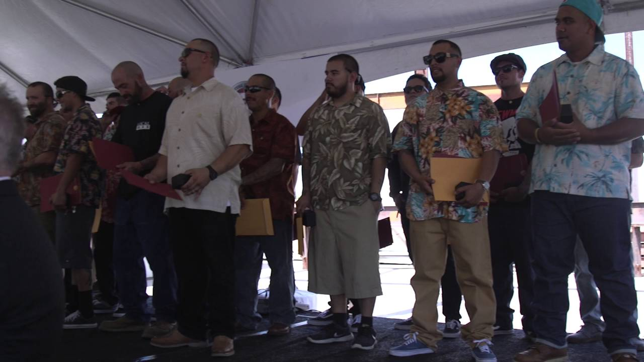Ironworkers 433 Apprentice Graduation September 2016