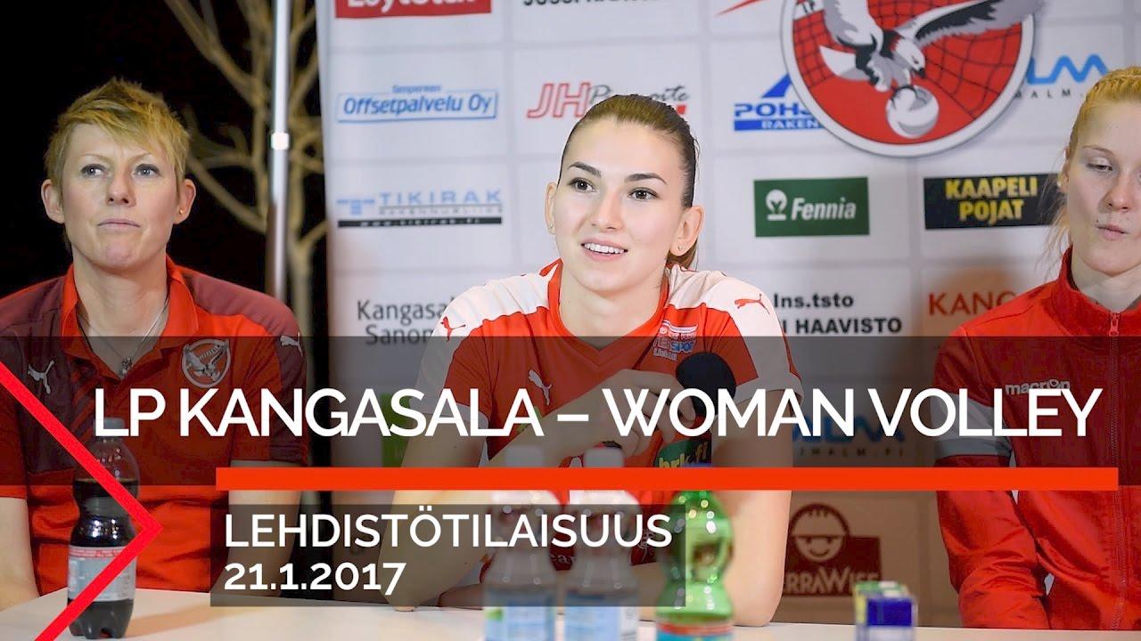 Lehdistötilaisuus: LP Kangasala-WoVo Rovaniemi, 21.1.2017 - YouTube