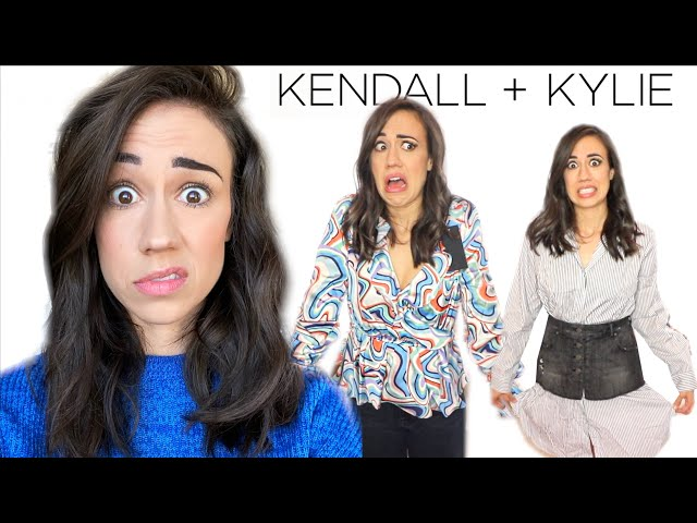 I BOUGHT KENDALL & KYLIE JENNER\'S CLOTHES!