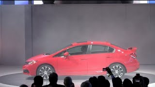 Take Two: A redesigned 2013 Honda Civic debuts at the  2012 LA Auto Show