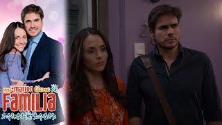 Robert no sabe como decirle a Julieta sobre su familia | Mi marido tiene familia - Televisa