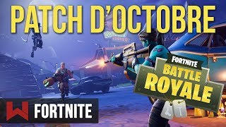 New October Patch: The Summary Fortnite Battle Royale