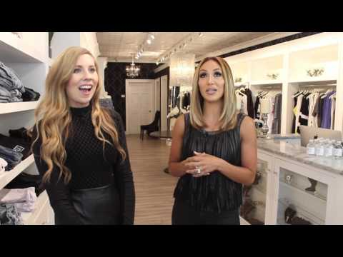 Melissa Gorga gives us a tour of Envy