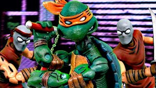 TMNT 2017 Stop Motion- Mikey VS The Foot Clan