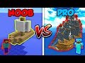 Minecraft NOOB vs. PRO: PIRATE SHIP in Minecraft!