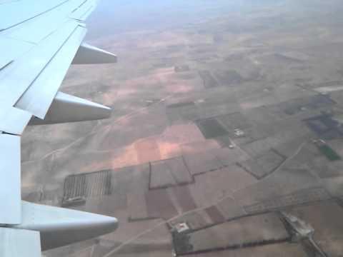 Take Off At Airport Oujda with Ryanair (FR 8775) to Charleroi 02.06.2011, Bni Drar