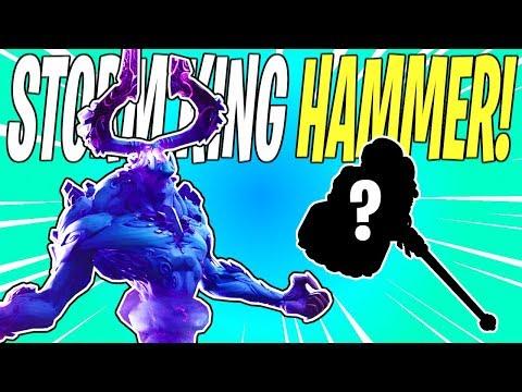 NEW Storm King Hammer Weapon Leak & Datamine! Bonus 👏 News 👏 | Fortnite Save The World