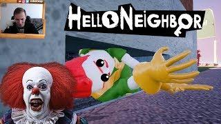 №969: СОСЕД ПЕРЕОДЕЛСЯ В КЛОУНА ИЗ ОНО В ПРИВЕТ СОСЕД МОД КИТ(Hello Neighbor Mod Kit)