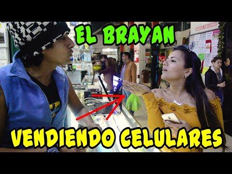 EL BRAYAN EN PUESTO DE CELULARES - Loco IORI