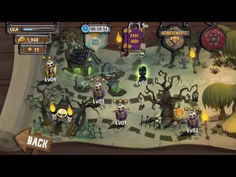 Skull Towers - Castle Defense | Level 4 | Android