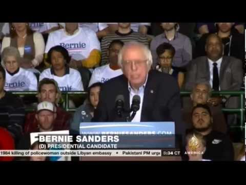 Video: Presidential Candidate Bernie Sanders Rejects Islamophobia, Urges Acceptance of Refugees