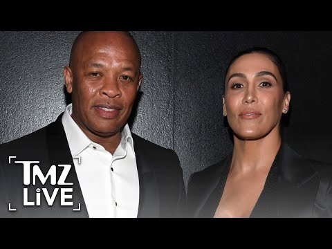 Dr. Dre's Record Co. Accuses Estranged Wife of 'Decimating' Bank Account | TMZ Live