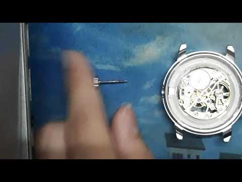 How To Open The Crown(stem) Of A Chinese Standard Movement Watch.