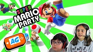 Gran Partida en SUPER MARIO PARTY de Nintendo Switch Aventuras en el TABLERO de JUEGO 🎲