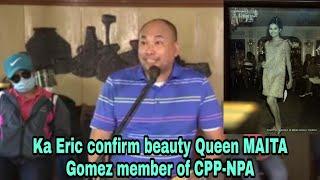 Ka eric testimony confirm maita gomez member of cpp-npa #maitagomez #kaeric #cppnpa