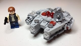 LEGO Star Wars Millennium Falcon 75030 Winter 2014 Microfighters set Review