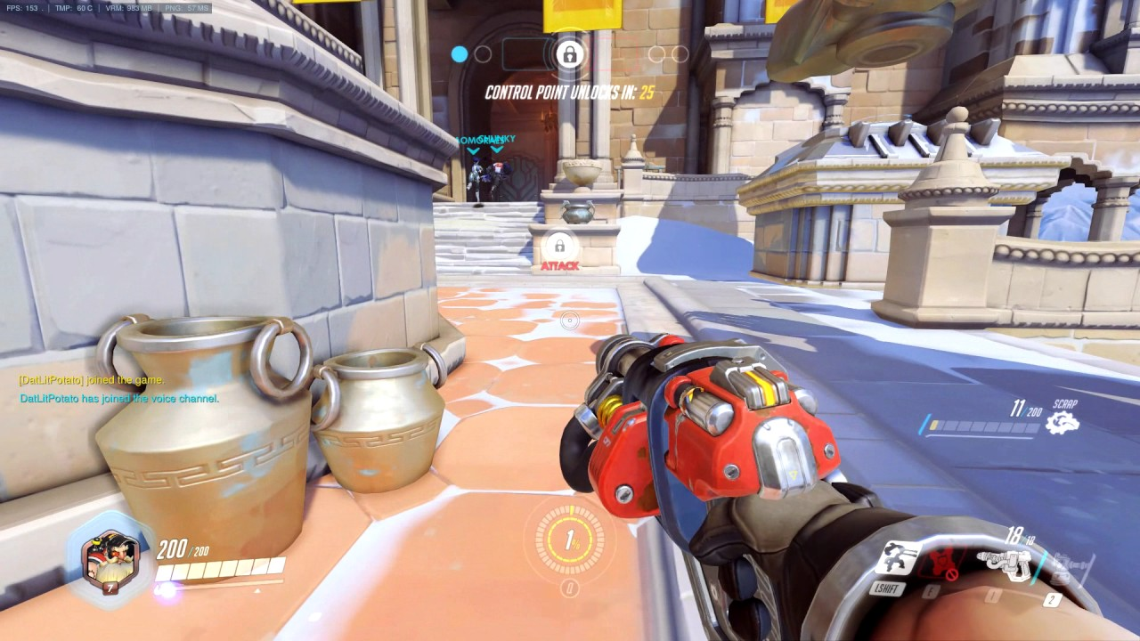 Uncapped FPS in Overwatch - Page 3 - Overclock net - An