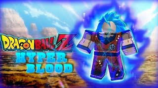 ROBLOX - mik there songoku super saiyan blue (Fake) - DRAGON BALL Hyper Blood