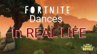 Danses Fortnite dans la vraie vie Wingman