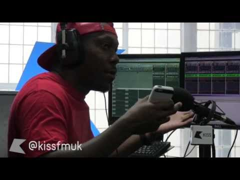 Dizzee Rascal Goin' Crazy at Kiss FM (UK)