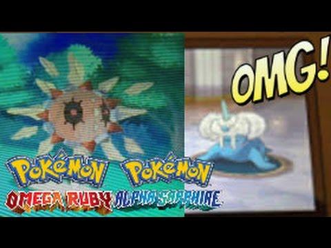 Pokemon ORAS Leak! Mega Walrein & Solrock??? - YouTube