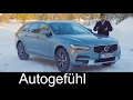 Volvo V90 Cross Country FULL REVIEW test driven CC Crossover Estate new neu - Autogefühl
