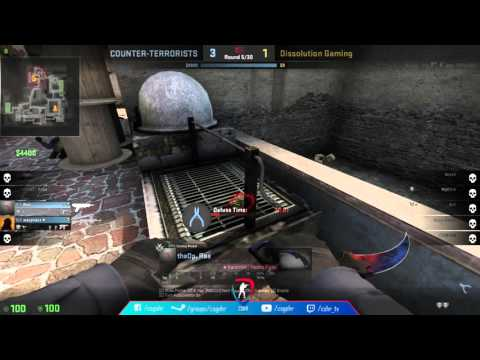 ESL Open Adria #14 Finale : Overpowered vs Dissolution Gaming